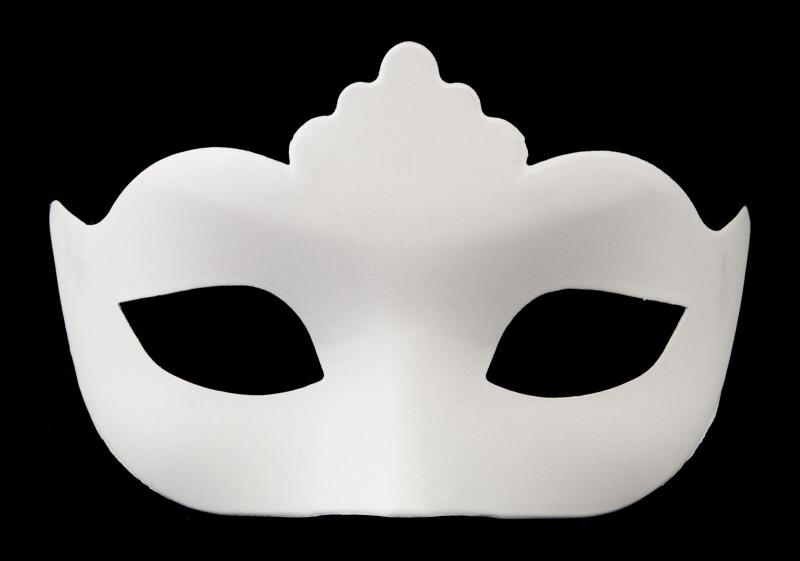 masque venitien colombine a peindre pour petit visage ou enfant. Black Bedroom Furniture Sets. Home Design Ideas