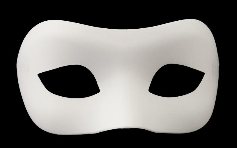 masque de venise colombine a peindre pour petit visage ou enfant. Black Bedroom Furniture Sets. Home Design Ideas