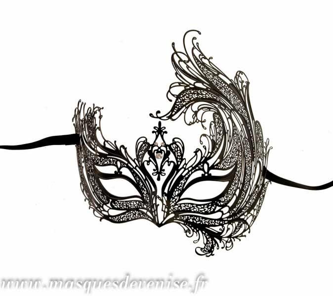 Masque de venise loup royal line venitien dentelle de - Masque venitien a imprimer ...