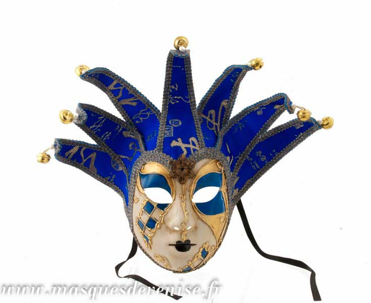 masque de venise colombina joker sinfonia dore 5 pointes carnaval masque venitien masque loup. Black Bedroom Furniture Sets. Home Design Ideas