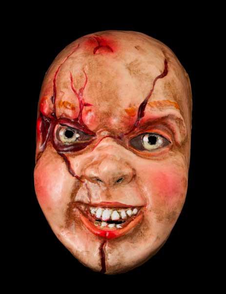 Masques halloween masques d 39 horreur en papier m ch - Masque papier mache ...