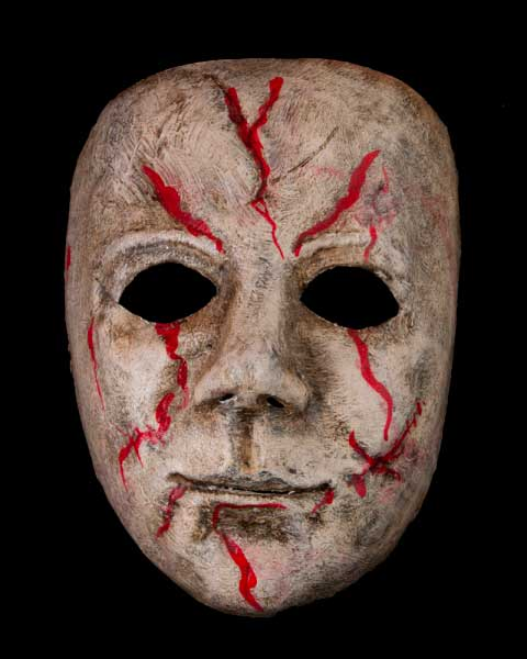Masques halloween masques d 39 horreur en papier m ch - Masque halloween horreur ...