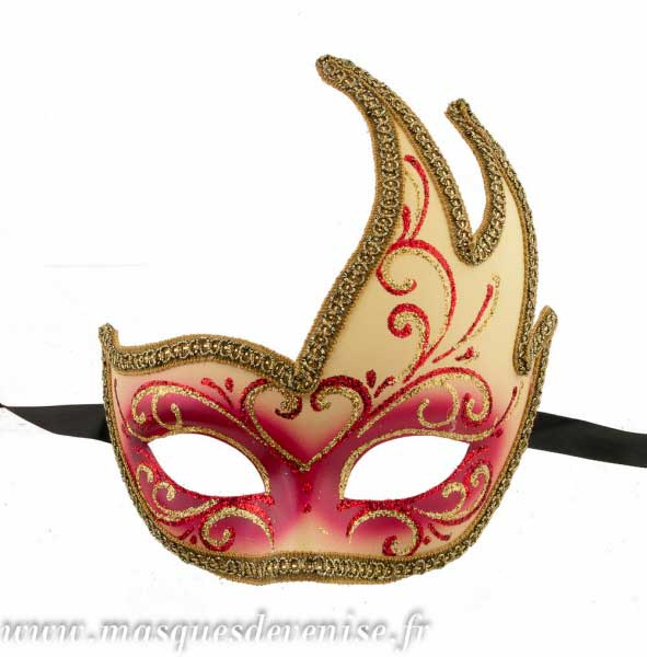 masque loup de venise cygne authentique venitien masques venitiens masque venitien masque. Black Bedroom Furniture Sets. Home Design Ideas