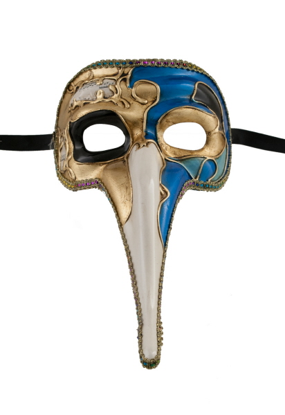 masque zanni musica bleu long nez bal masqu ou pour soir e masques de venise masque de gala. Black Bedroom Furniture Sets. Home Design Ideas