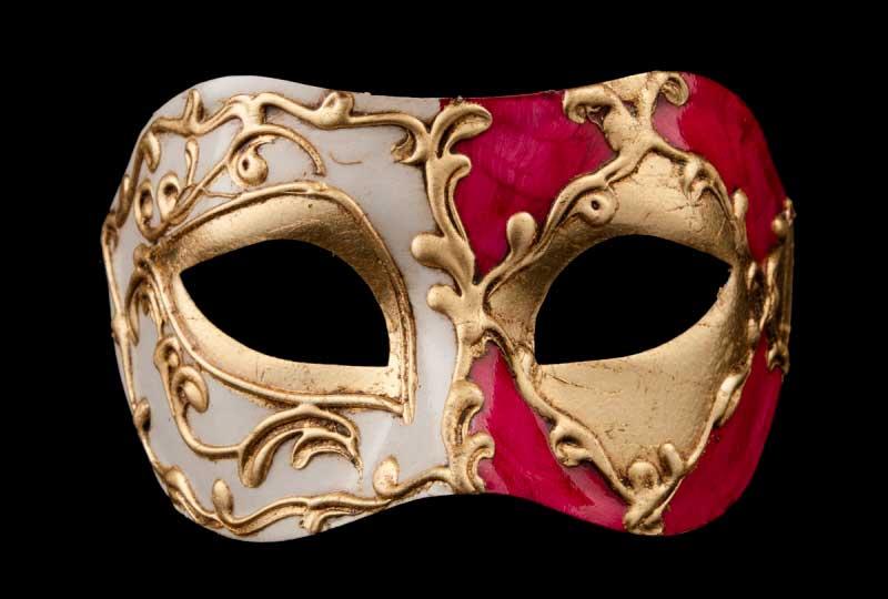 masque venitien ella rouge bal masqu soir e masques de venise masques colombine de gala. Black Bedroom Furniture Sets. Home Design Ideas
