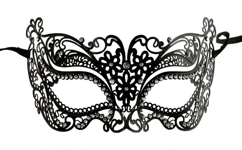 Masque de venise en metal masque ventien metal filigrane - Masque venitien a imprimer ...