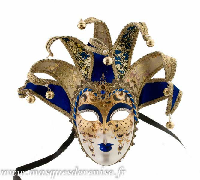 masque joker jolly pointes pour deguisement masque de venise pour le carnaval masque pour bal. Black Bedroom Furniture Sets. Home Design Ideas
