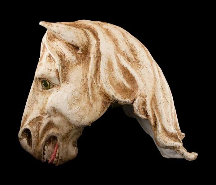 masque de venise cheval en papier mache masque venitien animaux masque pour carnaval ou f te. Black Bedroom Furniture Sets. Home Design Ideas