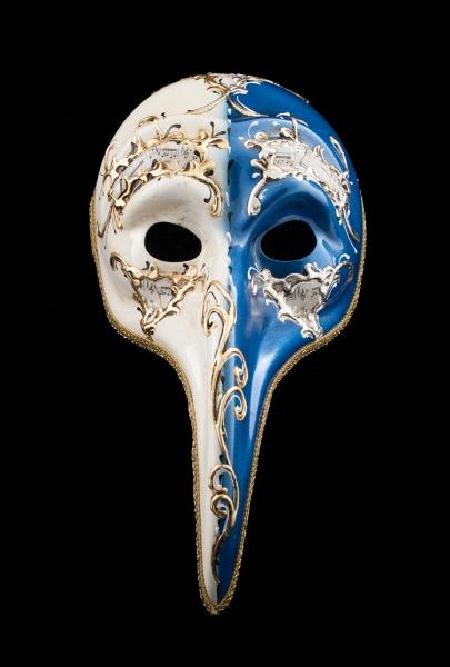 masque turco day night bleu long nez bal masqu ou pour soir e masques de venise masque de gala. Black Bedroom Furniture Sets. Home Design Ideas