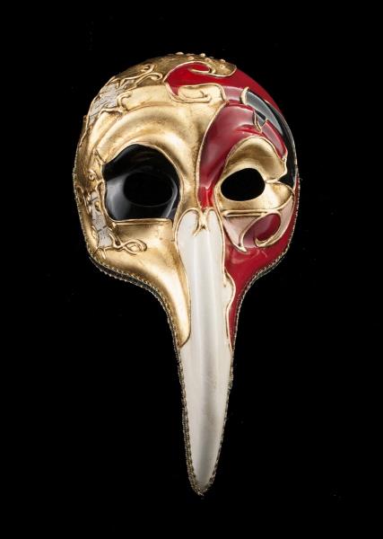 masque turco symphonia rouge noir long nez bal masqu ou pour soir e masques de venise masque de. Black Bedroom Furniture Sets. Home Design Ideas