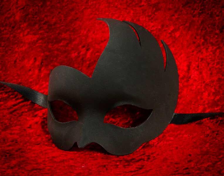 masque de venise a peindre colombine ondine en papier mache. Black Bedroom Furniture Sets. Home Design Ideas
