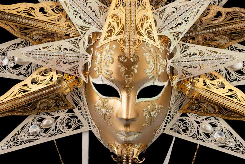 en présentant de style élégant original de premier ordre Masque de Venise-Masques venitiens pour Carnaval,gala ...