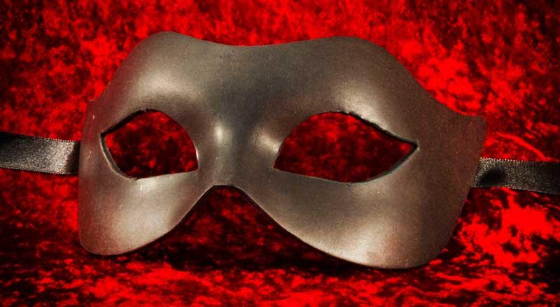 masque de venise a peindre colombine loup en papier mache. Black Bedroom Furniture Sets. Home Design Ideas