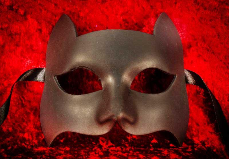 masque peindre masque noir masque papier mach. Black Bedroom Furniture Sets. Home Design Ideas