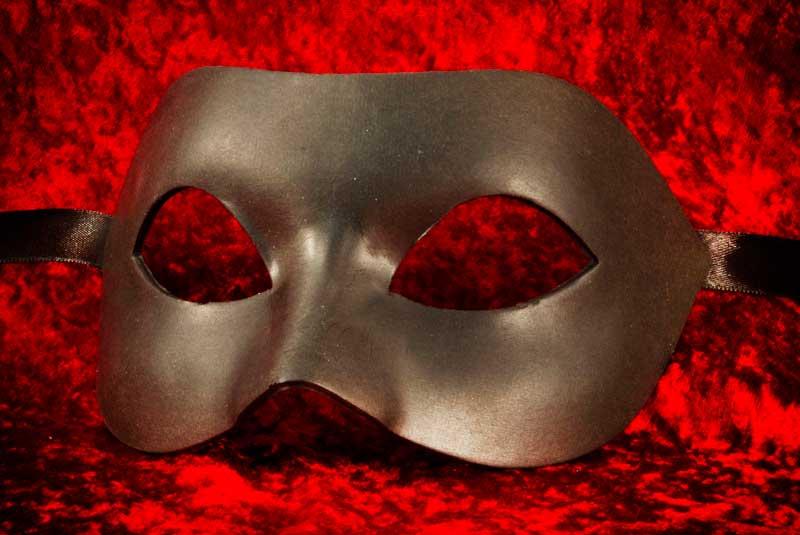 masque de venise a peindre colombine nera en papier mache. Black Bedroom Furniture Sets. Home Design Ideas